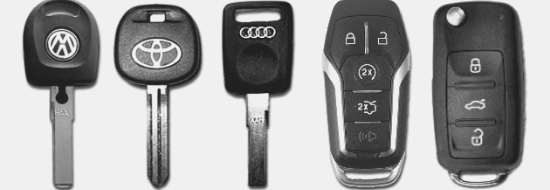 Car Keys & Remotes Replacement ​