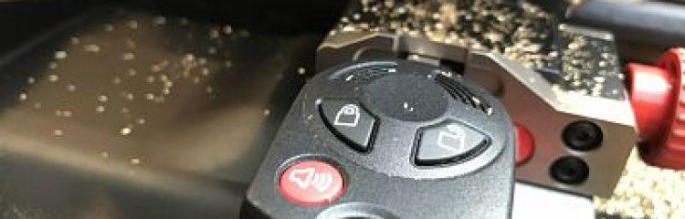 Remplacement de clé de voiture